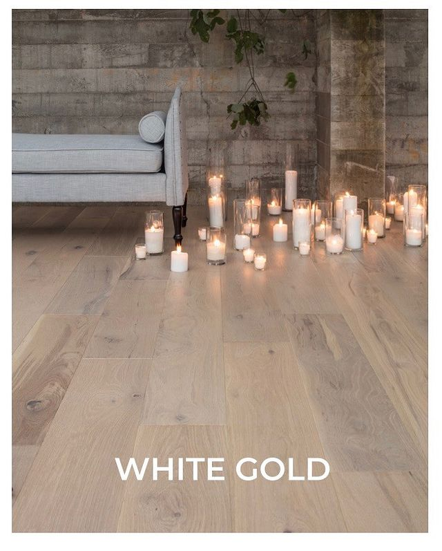 Designer Spotlight Shine Bright White Gold