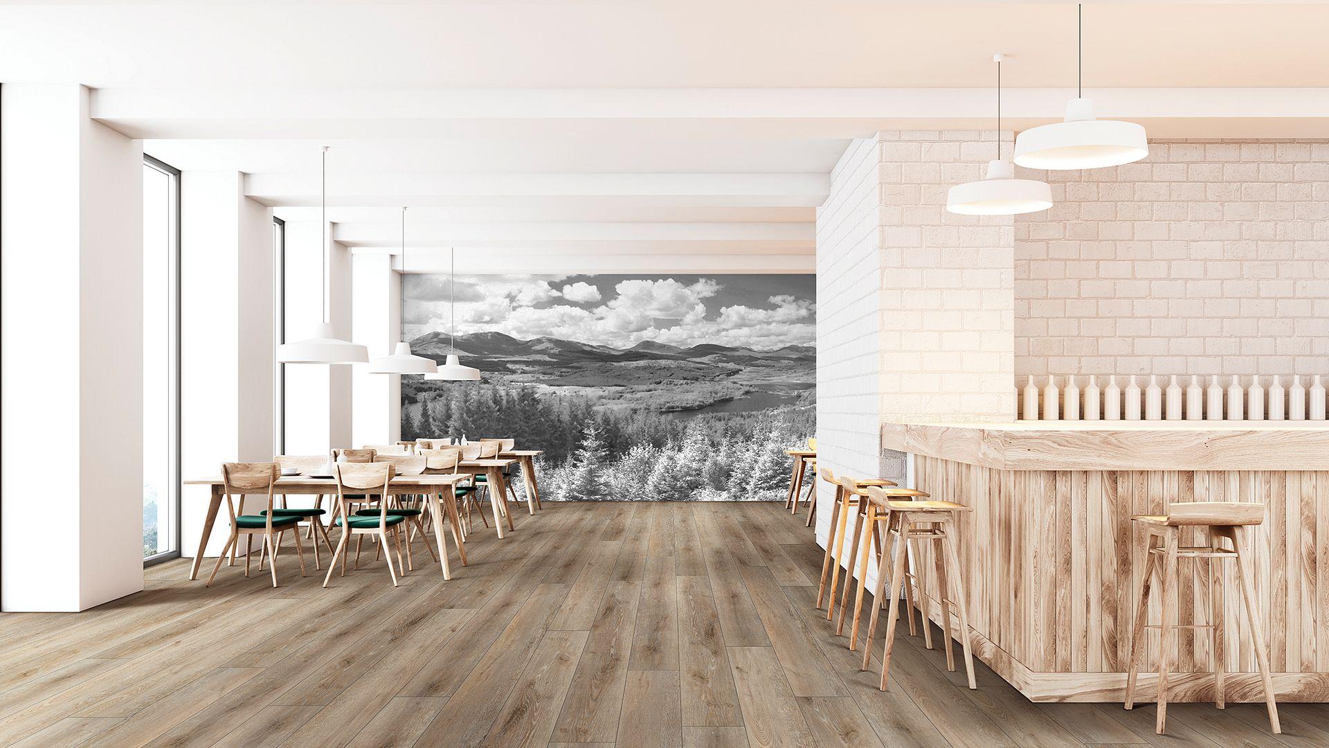 Suva Oak EVP Vinyl Flooring Product Scene