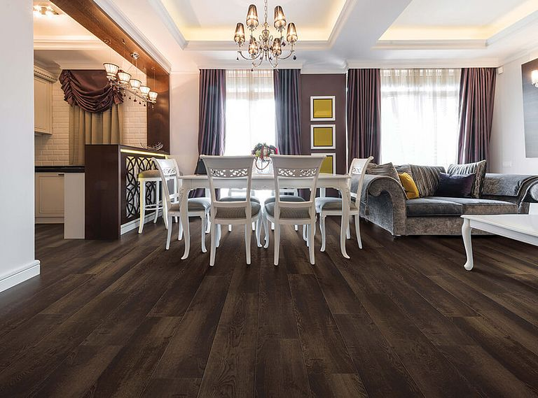 WILLIAMSON OAK EVP Vinyl Flooring Room Scene