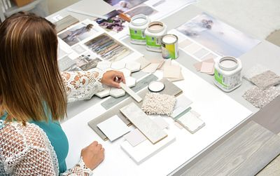 Jada McCamy, senior product designer, works behind the scenes to bring the Whisper palette to life.