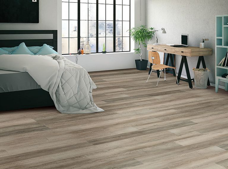 Leisure Oak EVP Vinyl Flooring Room Scene