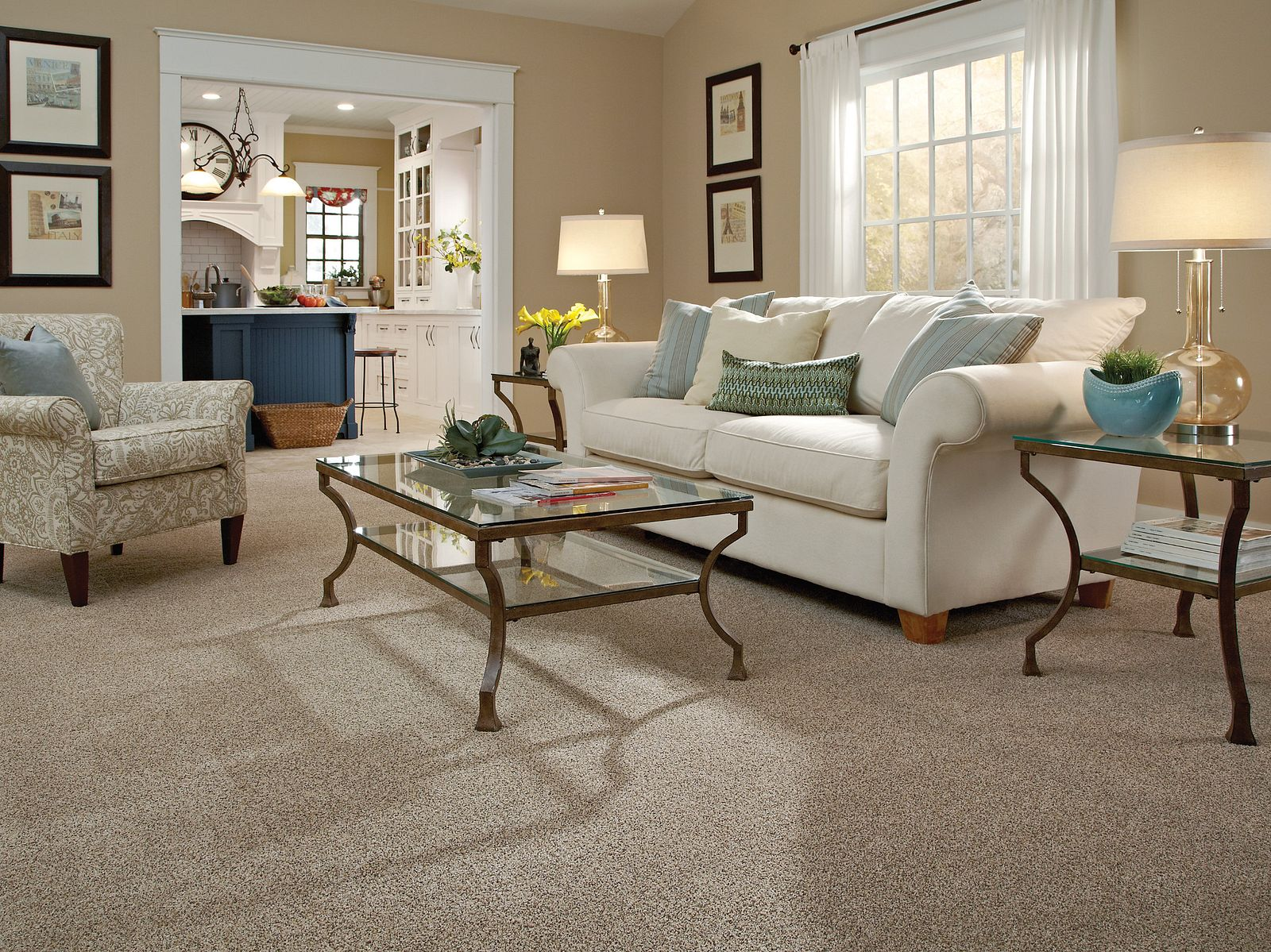 EA583 00182 carpet Room Scene