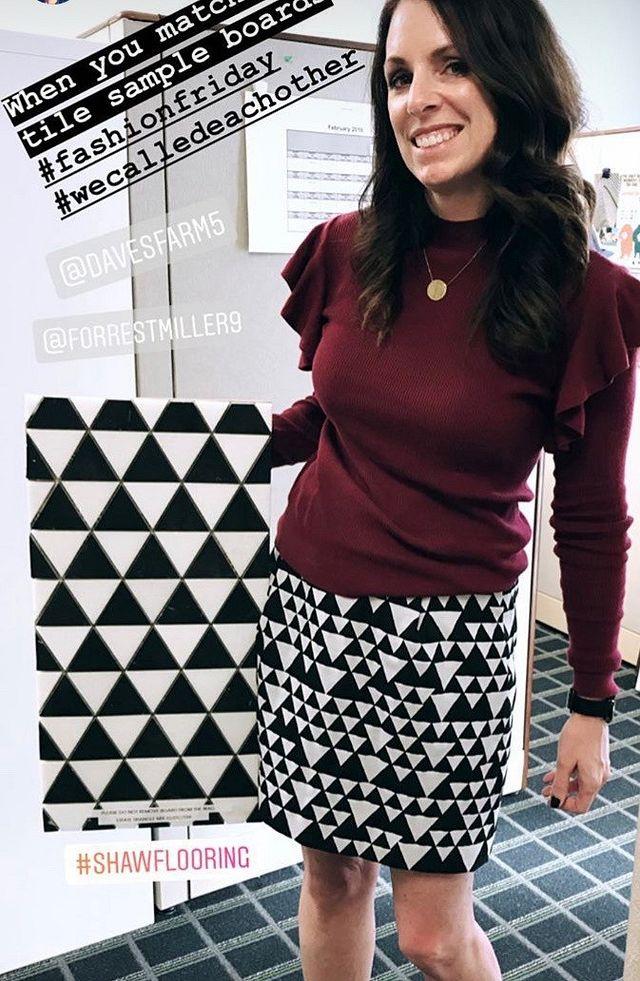 Designer Spotlight Polka Estate Triangle Black and White 1.JPG