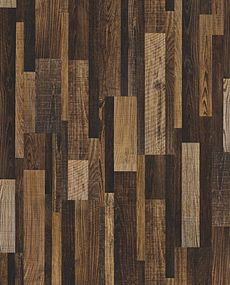 Pinwheel Oak EVP vinyl flooring