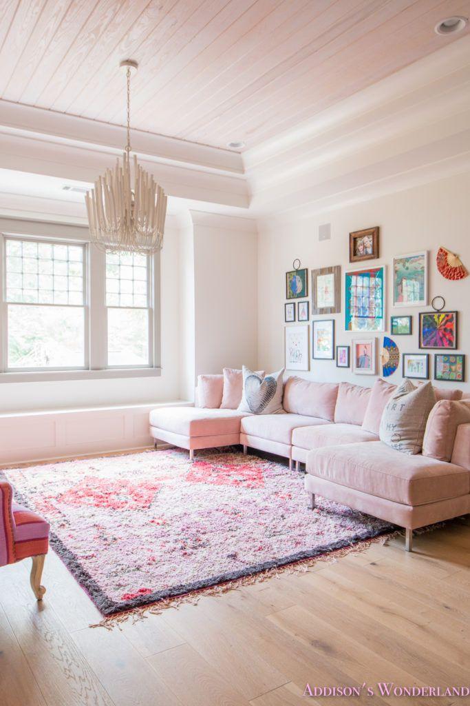 Addison's Wonderland - Whitewashed Flooring