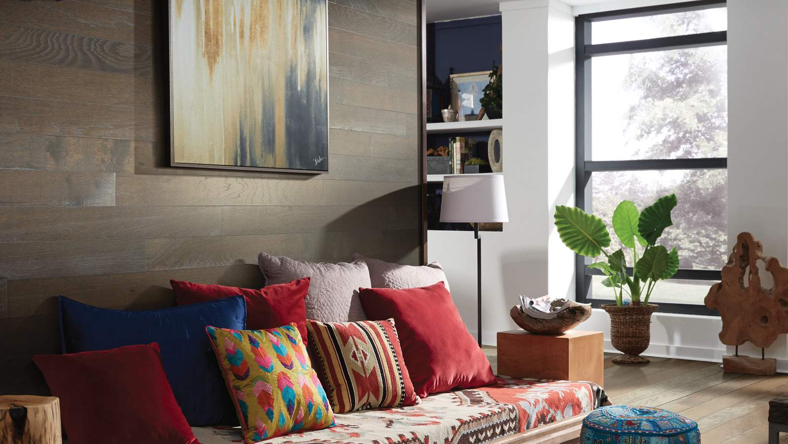 How to Create a Hardwood Accent Wall