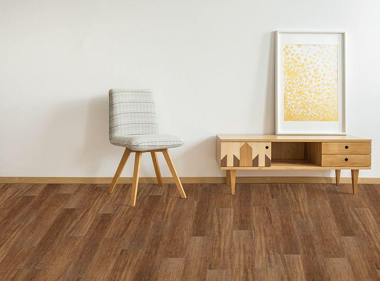 Kendal Bamboo EVP Vinyl Flooring Room Scene