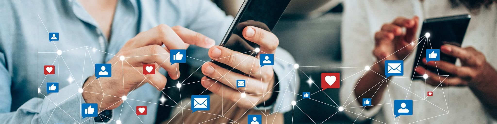 contact social media sharing email 2021
