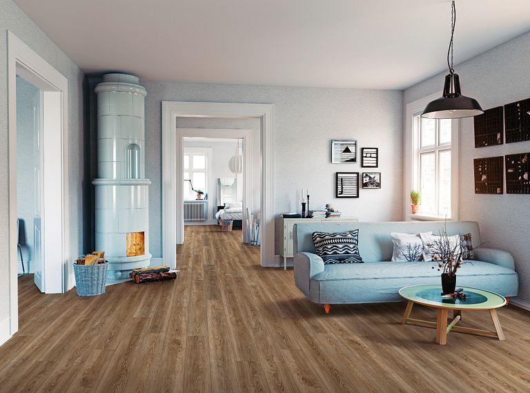 Stylish Comfort - Daring EVP Vinyl Flooring Room Scene