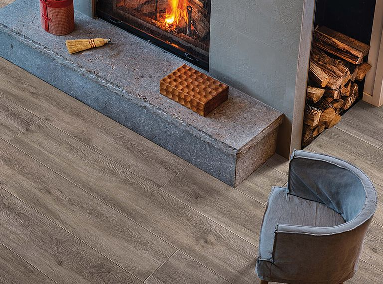BLACKBURN OAK EVP Vinyl Flooring Room Scene