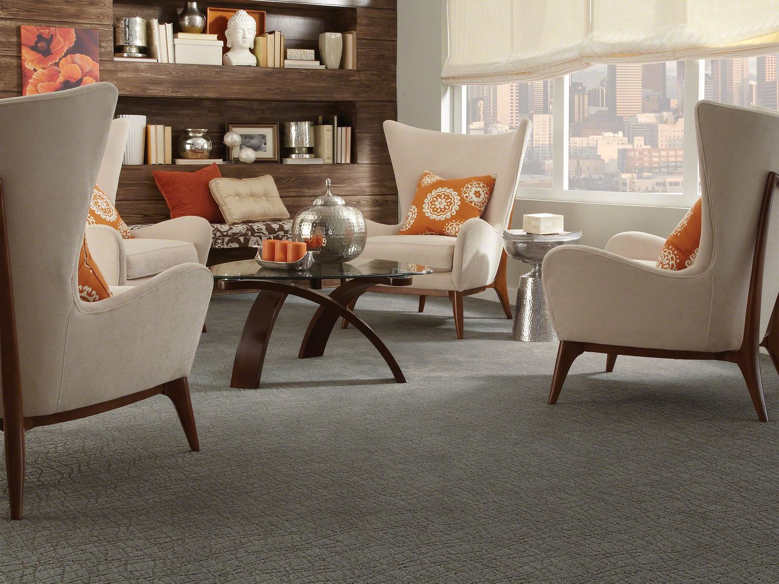 Z6869 00555 carpet Room Scene