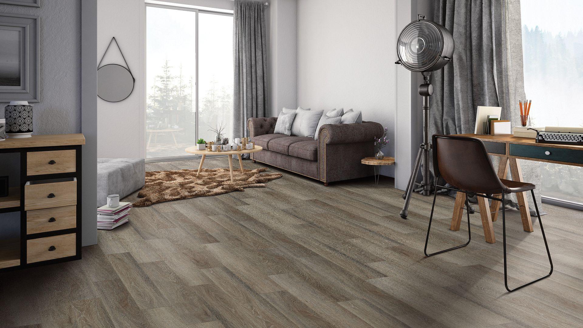 Lancet Oak EVP Vinyl Flooring Product Scene