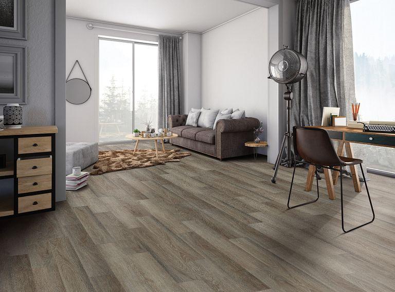 Lancet Oak EVP Vinyl Flooring Room Scene