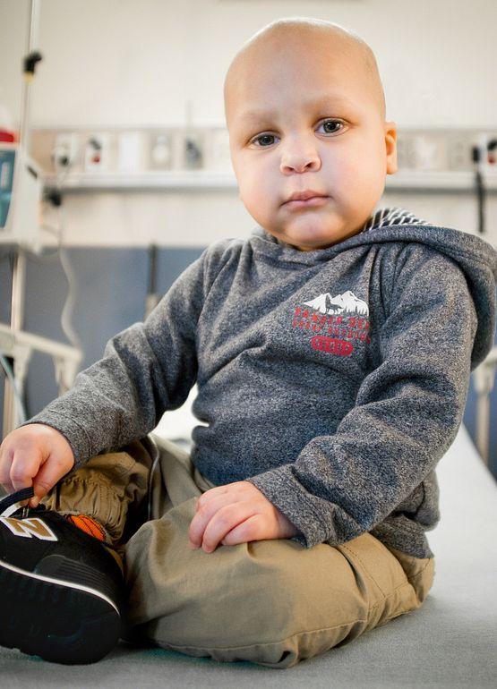 St Jude Hospital patient Aamir
