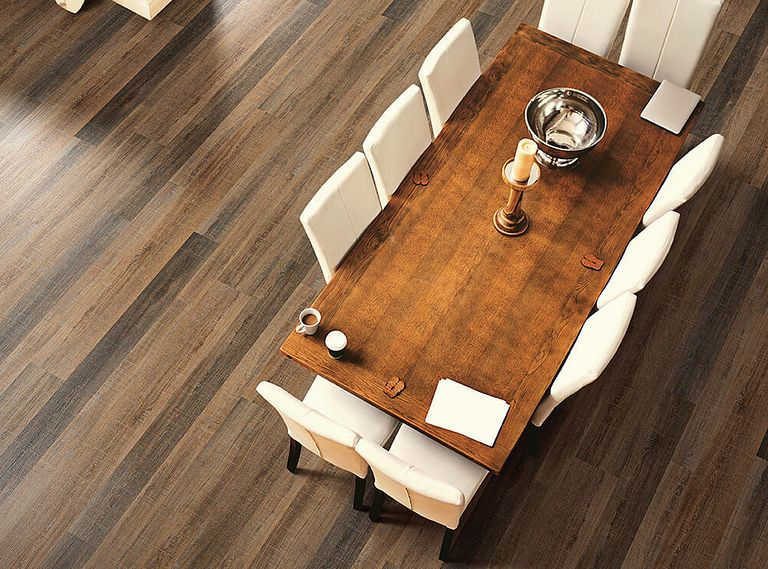 Fascination Oak EVP Vinyl Flooring Room Scene