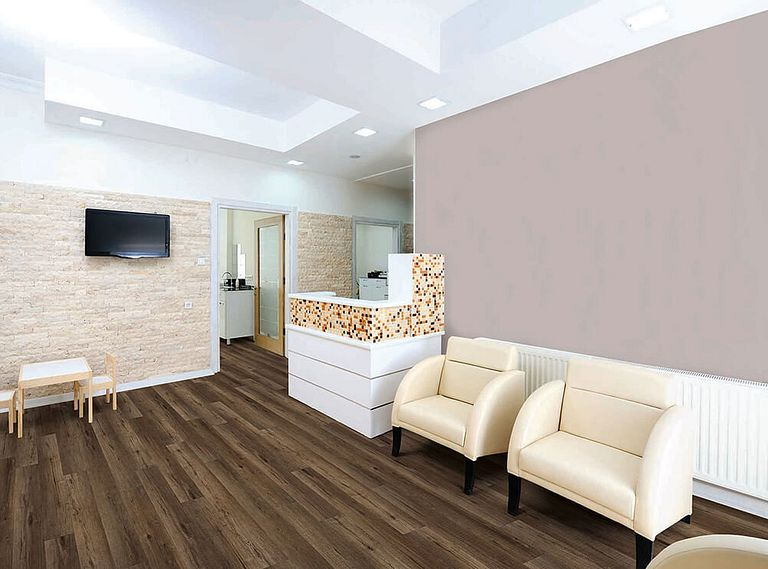 CHANDLER OAK EVP Vinyl Flooring Room Scene