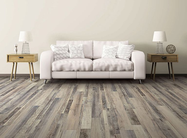 Axial Oak EVP Vinyl Flooring Room Scene