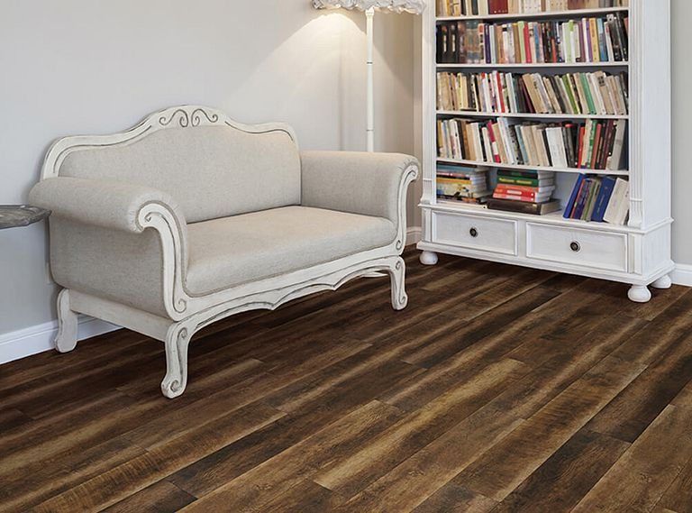VINEYARD BARREL DRIFTWOOD EVP Vinyl Flooring Room Scene
