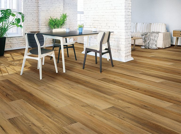 Virtue Oak EVP Vinyl Flooring Room Scene