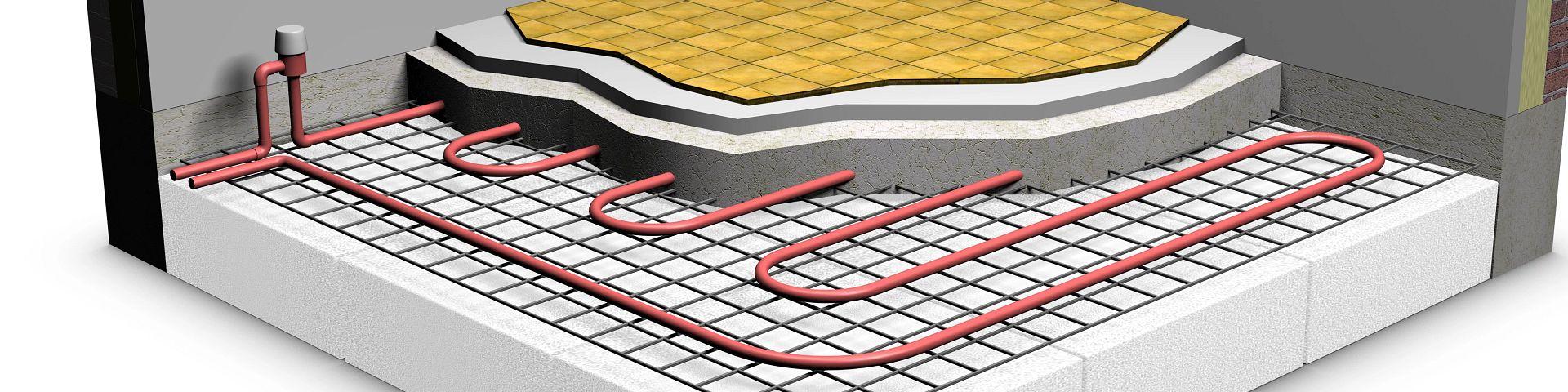 radiant heating blueprint