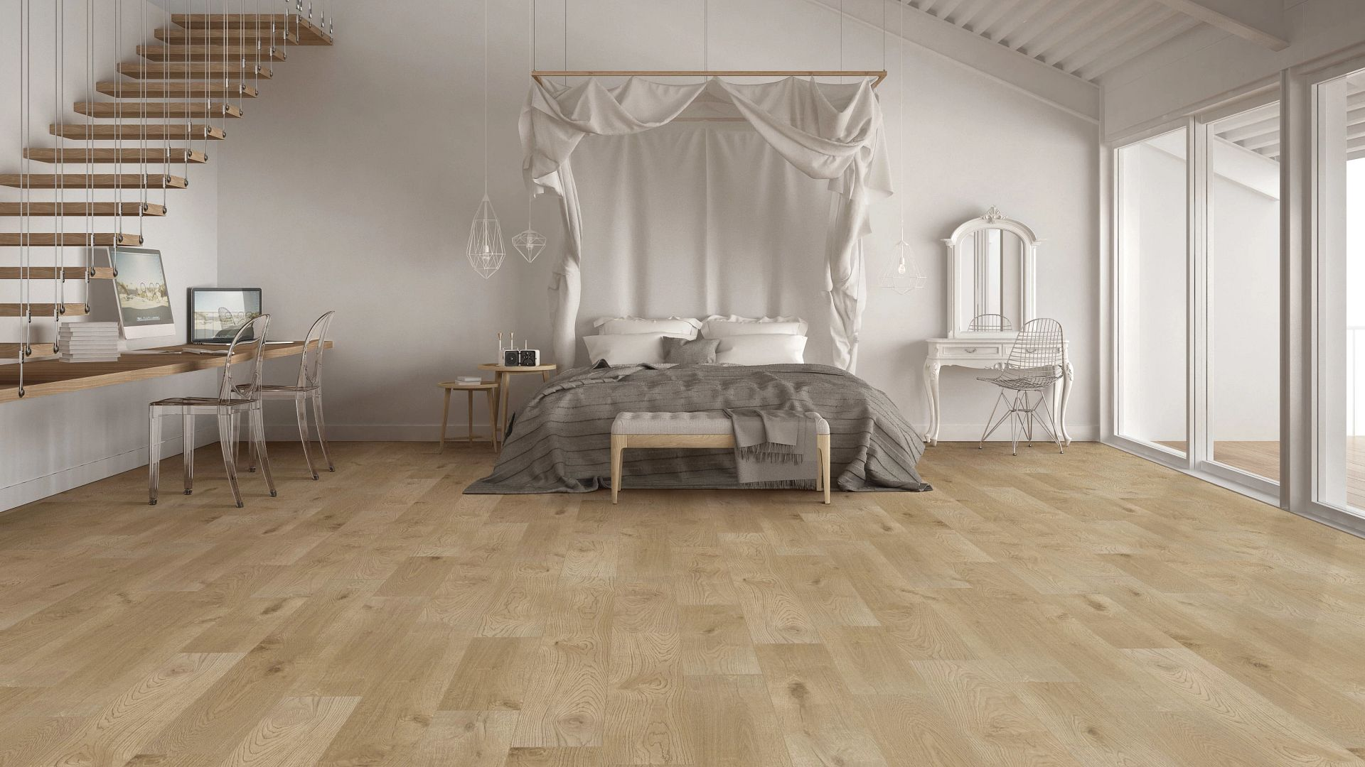 Pronto Oak EVP Vinyl Flooring Product Scene