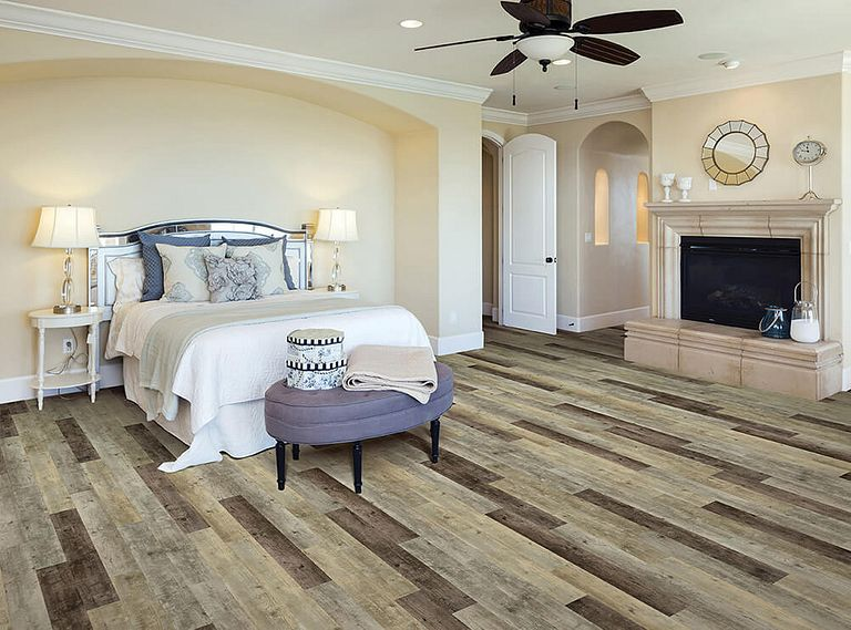 EXPOSITION OAK EVP Vinyl Flooring Room Scene