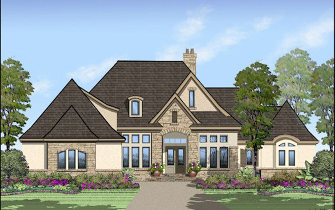 A rendering of the 2018 Chattanooga St. Jude Dream Home.