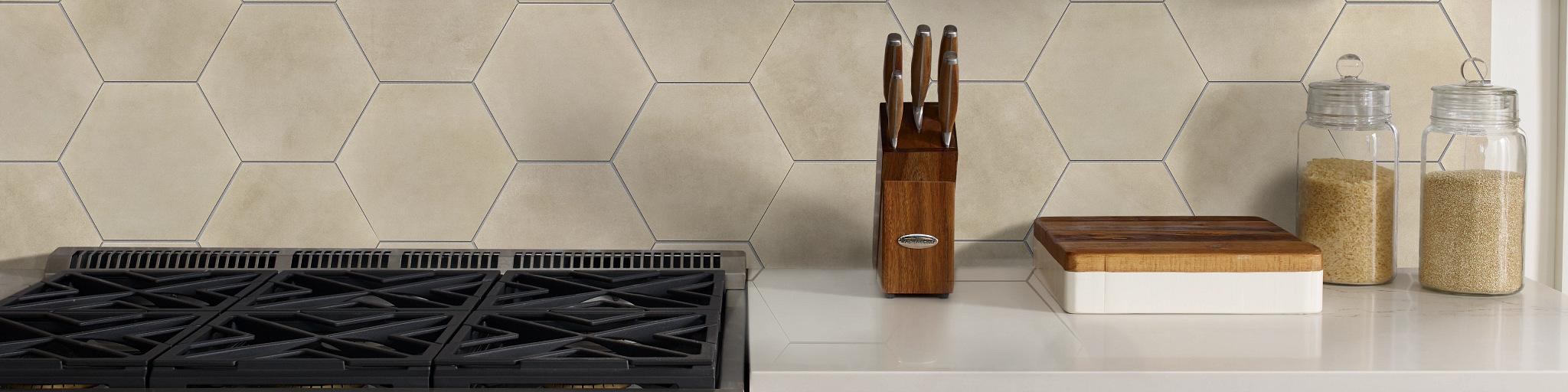 Tile-and-Stone-Backsplash-Revival-Hexagon-327TS-00200-Sand-Kitchen-2020