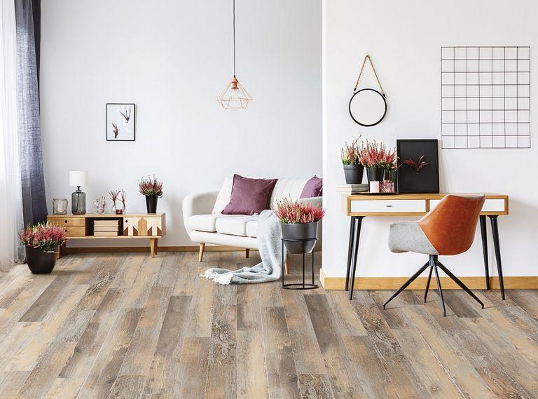 Zadora EVP Vinyl Flooring Room Scene