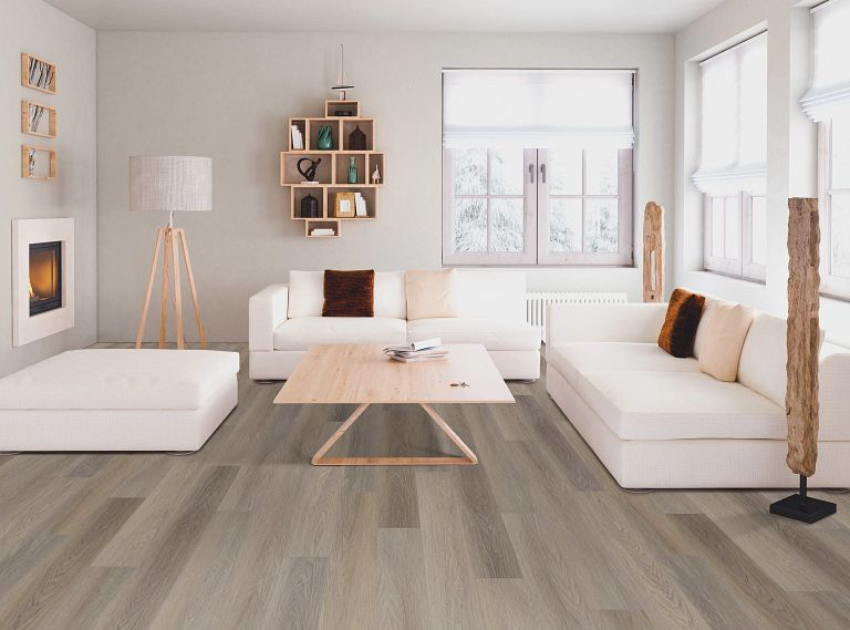 Lure Oak EVP Vinyl Flooring Room Scene