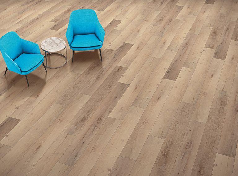 Madrid Oak EVP Vinyl Flooring Room Scene