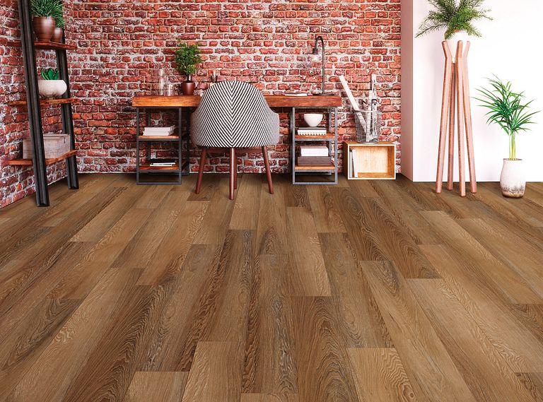 Irvine Chestnut EVP Vinyl Flooring Room Scene