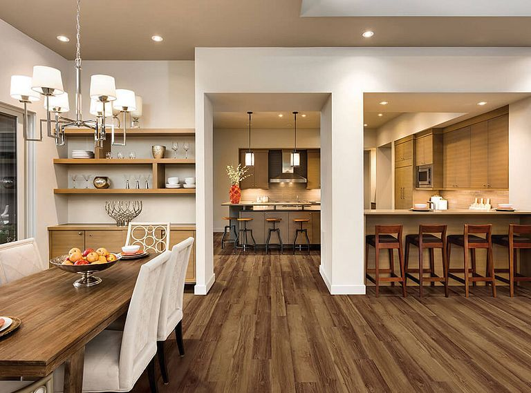 MORNINGTON OAK EVP Vinyl Flooring Room Scene