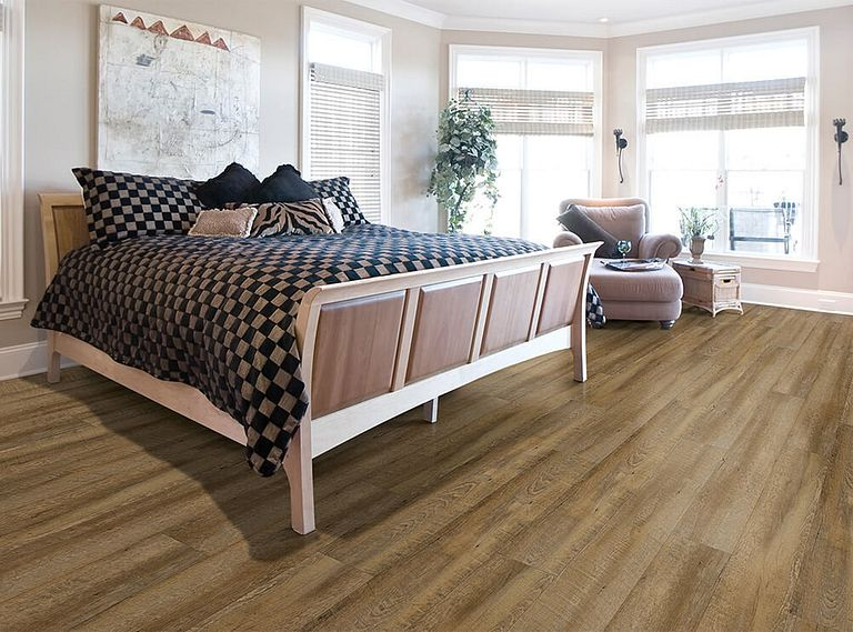 CATALINA OAK EVP Vinyl Flooring Room Scene