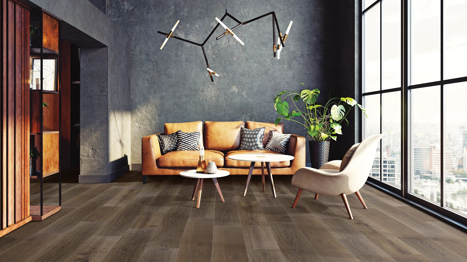Somerset Oak EVP Vinyl Flooring Product Scene