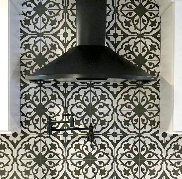 Designer Spotlight Pattern to the People Oven Hood.JPG