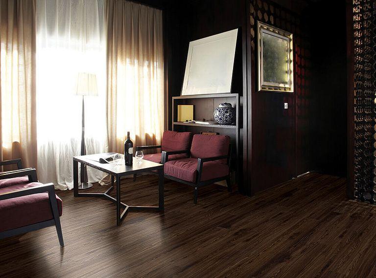 DORAL WALNUT EVP Vinyl Flooring Room Scene