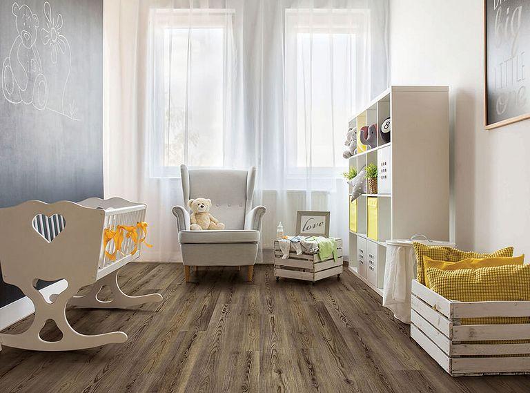 Angola Pine EVP Vinyl Flooring Room Scene