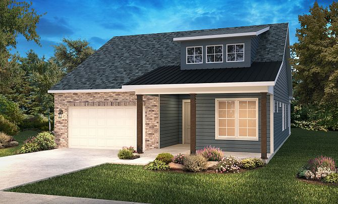Trilogy Lake Norman Elevation Modern Country