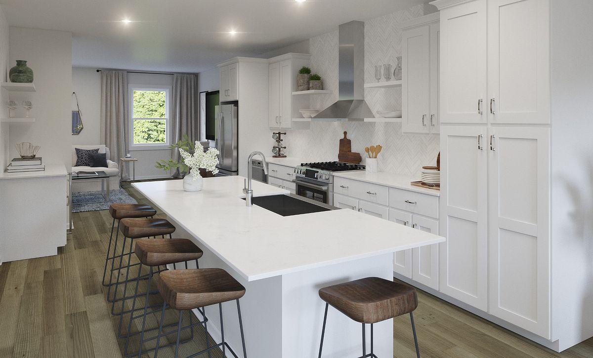 Brooklyn plan Kitchen