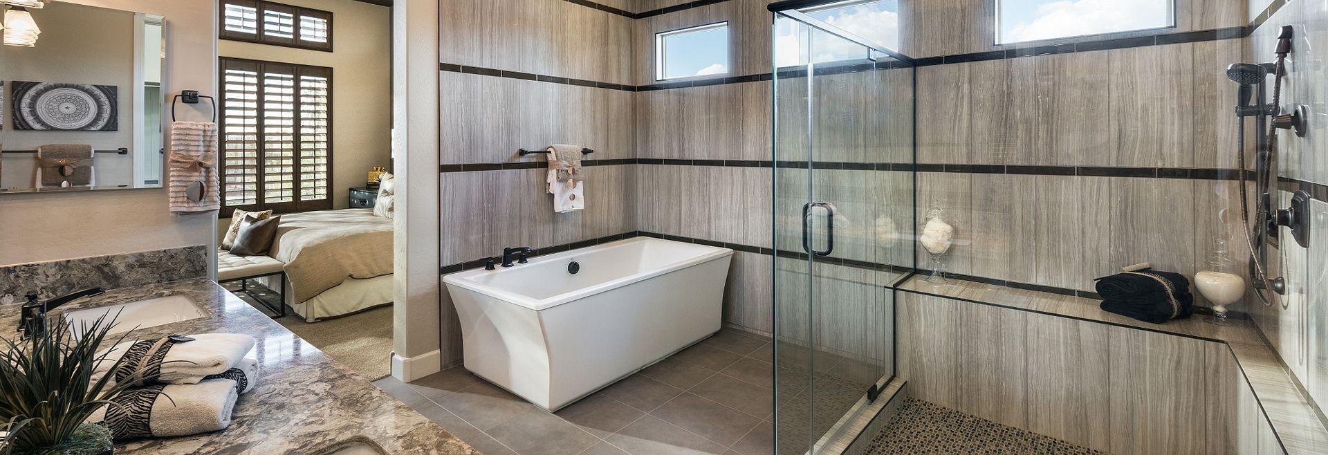 Rhythmic Model Master Bathroom