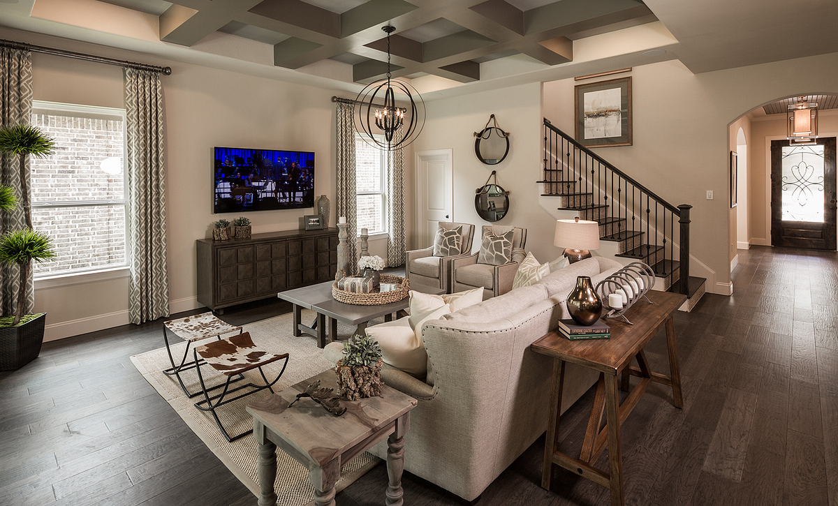 Plan 5137 Living Area