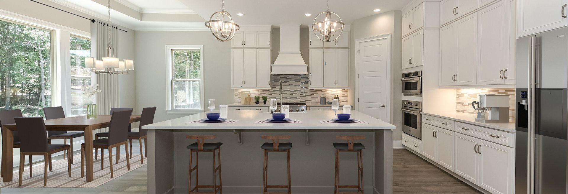 Avalon Kitchen with custom island