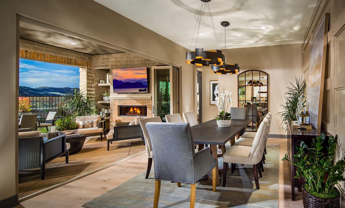 Alondra Plan 1-Model Dining Room