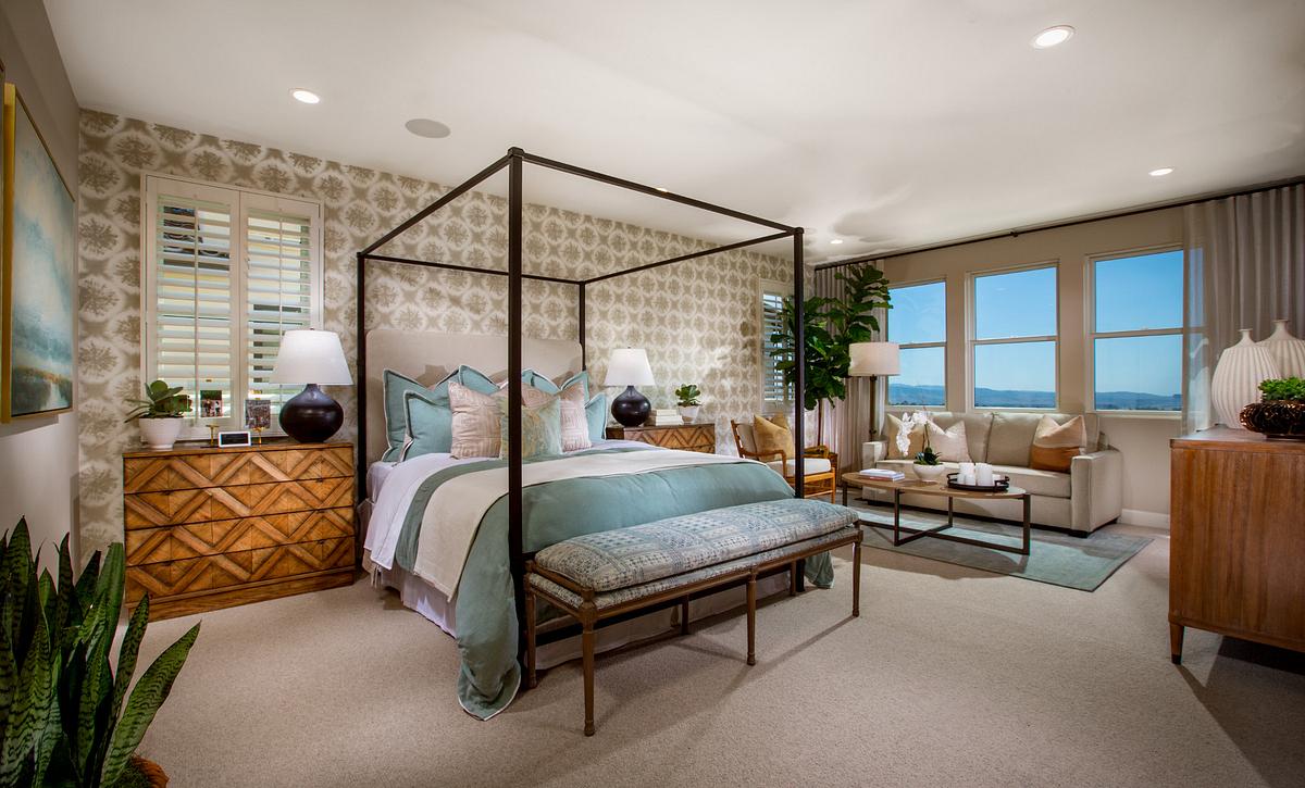 Teresina Plan 3X Master Bedroom