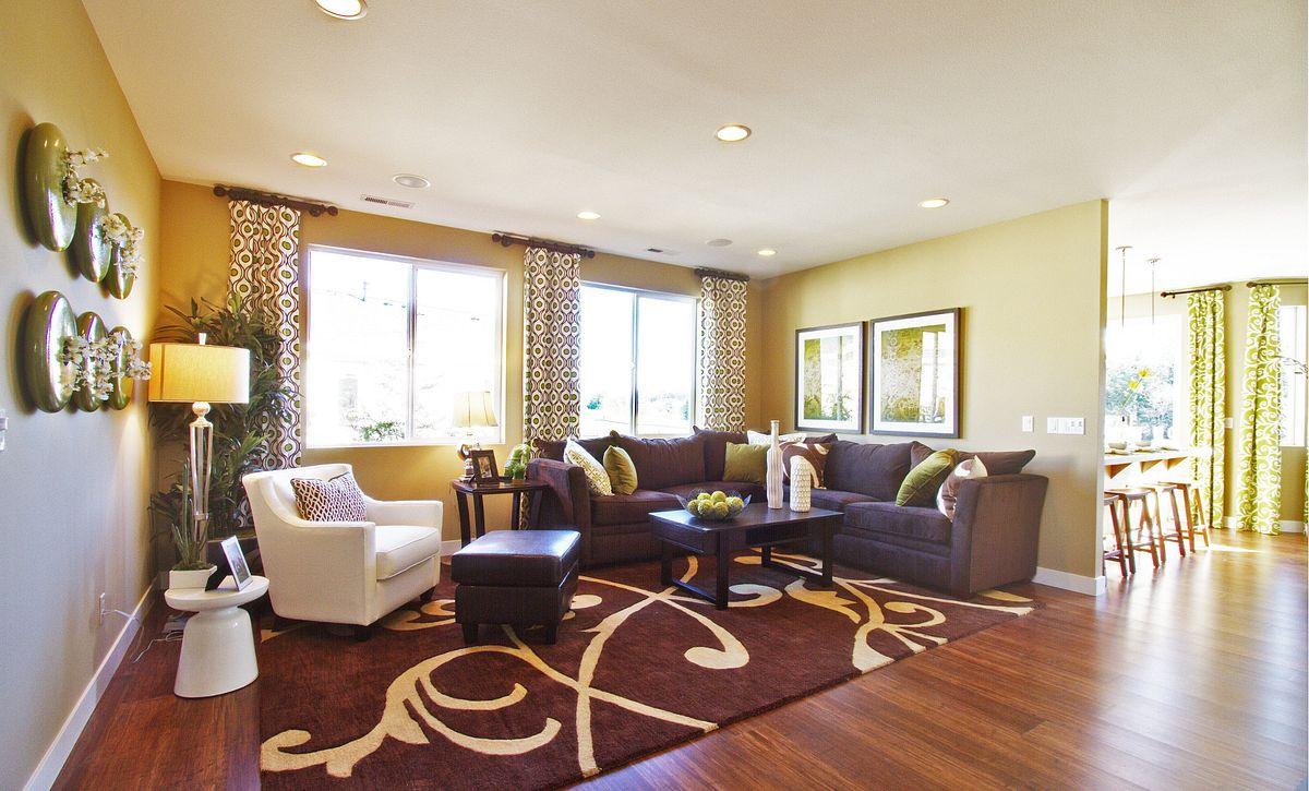 Trilogy at Tehaleh Pebble Beach Living Room