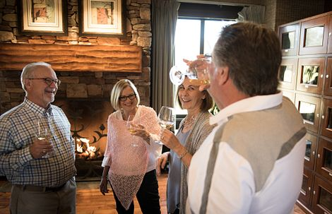 Trilogy Monarch Dunes Homeowners at Happier Hour