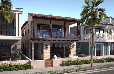 Plan 8A Spanish Exterior Rendering
