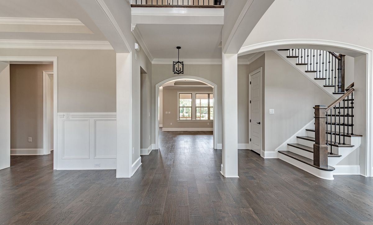 Preston plan Foyer