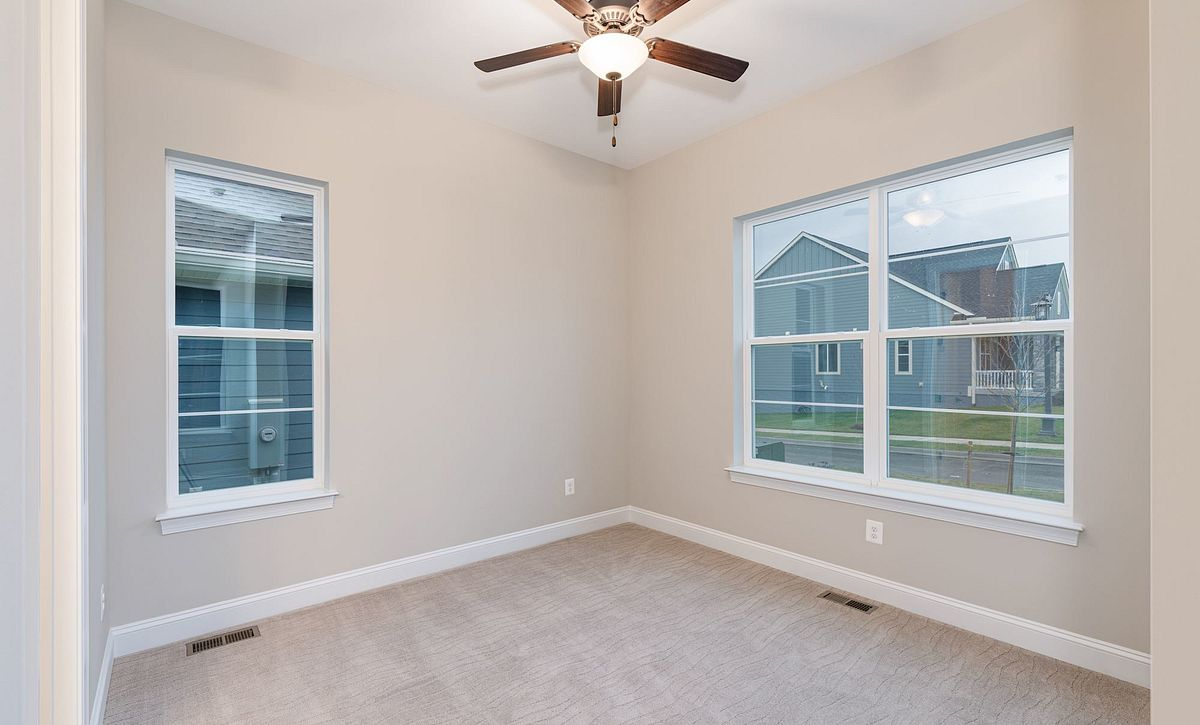 Trilogy at Lake Frederick Quick Move In Home Evoke Plan Guest Bed